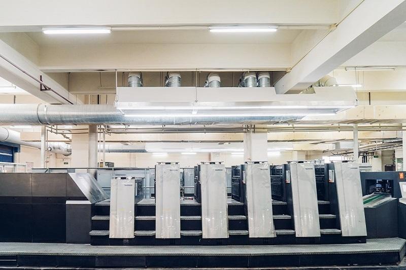 五色印刷机